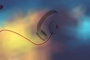 music minimalism headphones audio beats