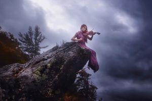music women outdoors women