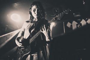 musical instrument women guitar monochrome chelsea wolfe music