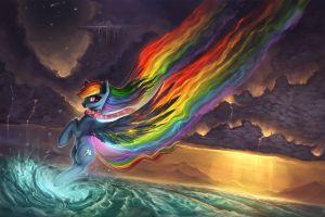 my little pony rainbows artwork digital art