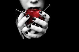 nails hands apples women