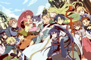 naotsugu log horizon nyanta lenessia erhart cowen shiroe anime akatsuki (log horizon) minori