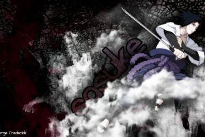 naruto shippuuden anime uchiha sasuke sword weapon