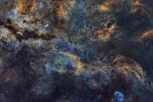 nasa galaxy nebula space stars