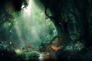 nature animals fantasy art