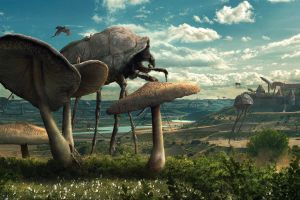 nature coexist fantasy art the elder scrolls iii: morrowind video games science fiction insect