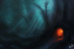 nature dark fantasy fantasy art dark artwork