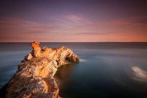nature horizon sea sky water