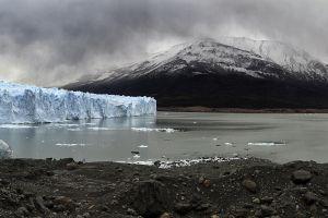 nature ice mountains landscape glaciers