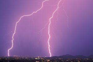 nature lightning storm