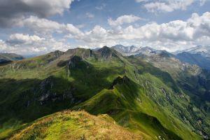 nature mountains mountain top landscape
