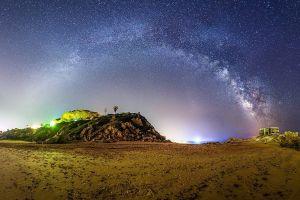 nature night sky sky