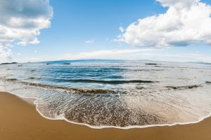 nature sea beach clouds photography