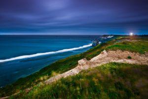 nature sea sky landscape coast