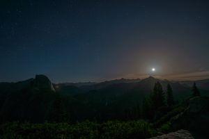 nature sky landscape night sky