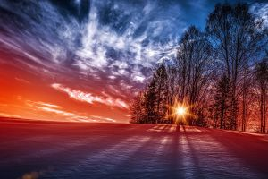 nature snow photography sky winter