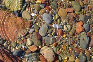 nature stones water