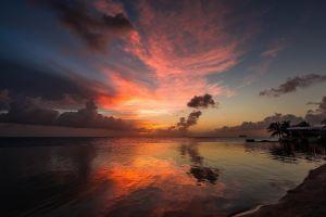 nature sunlight sky sea clouds