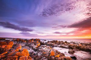 nature sunset landscape