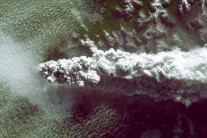 nature volcano smoke