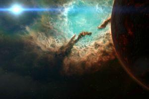 nebula space planet