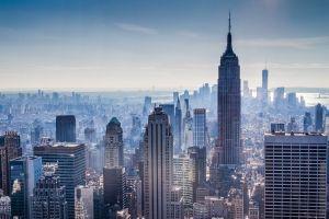 new york city building cityscape