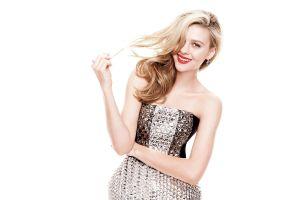 nicola peltz blonde simple background actress women celebrity