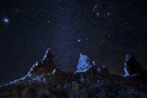 night stars landscape