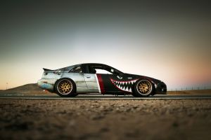 nissan 300zx speedhunters the z32 fighter plane car nissan
