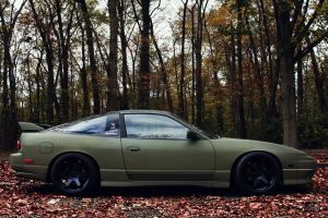 nissan jdm car 180sx