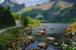 norway nature lake