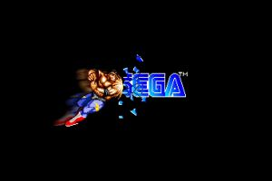nostalgia simple background streets of rage sega 16-bit logo