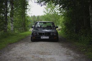numbers black cars bmw e28 squatty bmw car