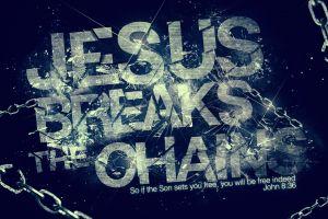numbers jesus christ god digital art chains