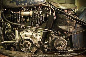 old vehicle motorcycle