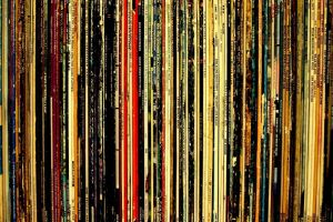 old vinyl music collections