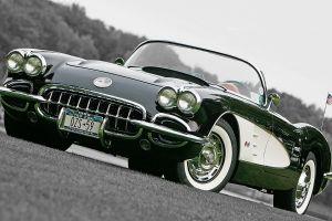 oldtimers car corvette vehicle