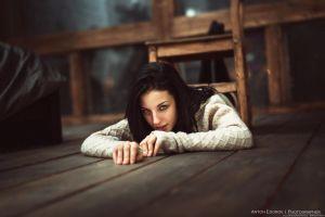 on the floor alla berger model women chair