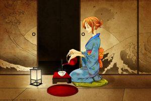 one piece kimono nami