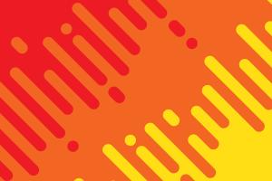 orange minimalism abstract pattern