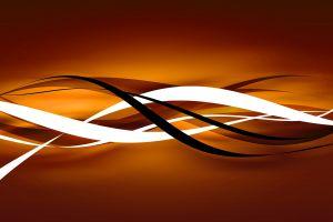 orange stripes vector art