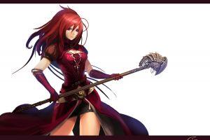 original characters redhead anime girls