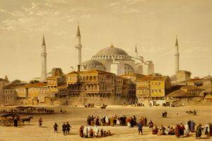 ottoman empire islam hagia sophia