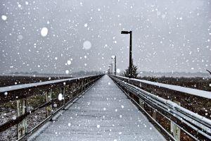 outdoors snow winter