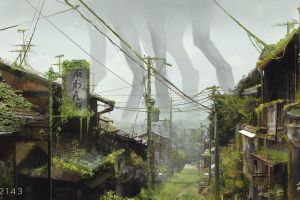 overgrown science fiction apocalyptic