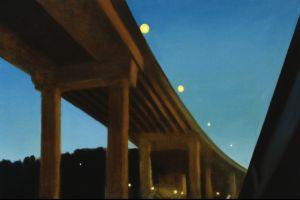 painting bridge construction