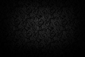 pattern floral dark background