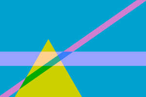 pattern geometry colorful triangle
