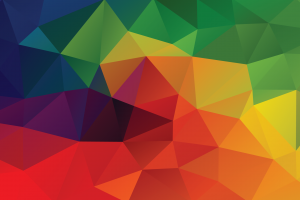 pattern low poly abstract colorful digital art