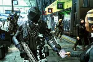 pc gaming deus ex: mankind divided screen shot futuristic video games